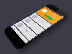 Error page fade out.  Card icon states.  Thanks for the iPhone mockup by @Kreativa Studio