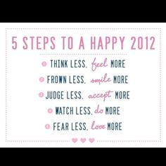 2012 will be the best year yet!