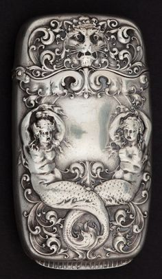 A GORHAM SILVER MATCH SAFE . Gorham Manufacturing Co., | Lot #68015 | Heritage Auctions