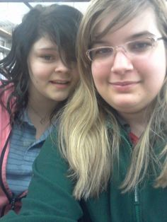 Back in the 11th grade with Holly.