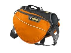 A great everyday pack with excellent performance, fit, and functionality. The Approach Pack by Rufwear is ideal for day hikes or overnight adventures. The padded assistance handle and top-loading stash pockets are appreciated by humans, and lightweight construction and strategic padding keep canine sidekicks comfortable over the miles.