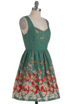 Vine and Dine Dress, #ModCloth
