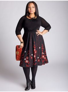 Lynette Sweater Dress in Black. Its my  new work/let's get drinks dress!