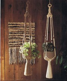 Vintage Macrame Pattern 70s Macrame Planter ♥´¨) ¸.•´ ¸.•*´¨)¸.•*¨) (¸.•´ (¸.•`♥ Instant Download This pdf file contains instructions of how to