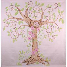 Enchanted Tree Canvas Mural : Popular Artwork For Girls at PoshTots