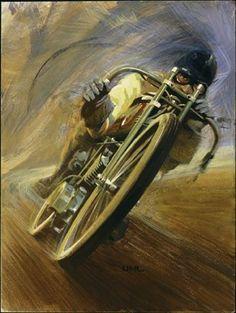 board racer artwork