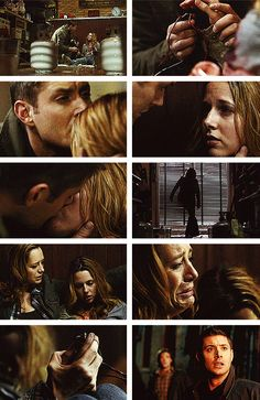 Supernatural ~  One of the bravest things...  5x10 Abandon All Hope...Still makes me teary. Ellen, Jo and Dean
