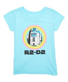 Look at this #zulilyfind! Mint 'R2-D2' Tee - Kids by Life's Bargains #zulilyfinds