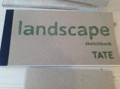 TATE MODERN - Landscape Sketchbook