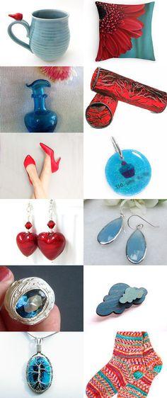 Spring Shopping by Marlena Rakoczy on Etsy--Pinned+with+TreasuryPin.com