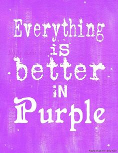 everything is better in purple sign digital pdf by hudsonsholidays - The Color Purple Book Pdf
