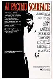 Scarface 1983 Scarface Movie Best Movie Posters Gangster Movies