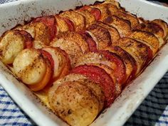 Slimming World Delights: Sweet Potato, Tomato and Potato Bake