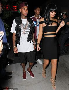 Keeping the party going! The 18-year-old reality star and her rapper beau later headed to ...
