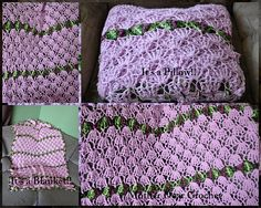 Ravelry: Lilac Pillowghan pattern by Rylie Hansen