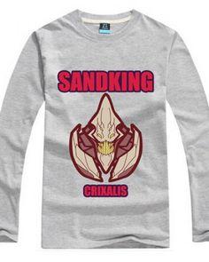 Dota 2 herói Sand King imprimiu a camisa de t para homens-