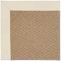 Capel Zoe Machine Tufted Sandy/Brown Area Rug Rug Size: