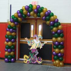 Mardi Gras Arch  Tampa Bay Party and Balloon 727 242 5446