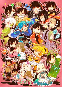 You can use this as a phone wallpaper :) Kagerou Project, Vocaloid, Fire Emblem, Anime Friendship, Haruhi Suzumiya, K Project, Cute Chibi, Cartoon Shows, Drawing Eyes