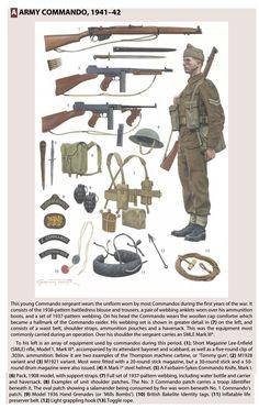 British Army Uniform, British Uniforms, Ww2 Uniforms, British Soldier, Military Uniforms, Military Gear, Military History, Gi Joe, British Commandos