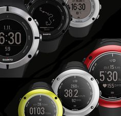 Suunto Ambit2. For cycling, running, swimming & all the other multi-sport action in your life, Suunto's GPS watches provide data to help keep you on course. They also help you accurately estimate how late you're going to be in hours, minutes, miles, or kilometers.