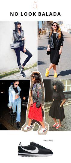 O Novo Tênis Queridinho das Fashion Girls nike cortez