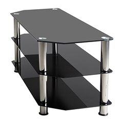 Beyondfashion Three/Five-Shelf Black Glass TV Stand for 3D LCD LED PLASMA Panel (3-shelf Table) Beyondfashion http://www.amazon.co.uk/dp/B00N79GB4K/ref=cm_sw_r_pi_dp_I1CFvb1RM06CV
