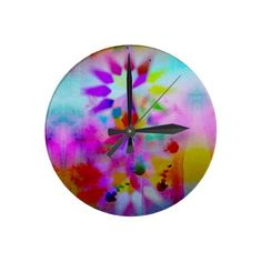 Lucy by Gréta Thórsdóttir - Wall Clock from Zazzle