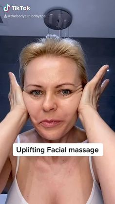 Massage Tips, Massage Facial, Facial Yoga, Face Massage Tool, Power Yoga Video, Maquillage On Fleek, Face Yoga Exercises, Facial Exercises For Jowls, Beauty Tips For Glowing Skin