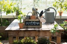 Horizontal Blackboard Crates | 8 ways to use product | Magnolia Market | Joanna Gaines | Waco, TX