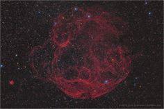 Simeis 147 (Sh2-240), Supernova Remnant in Taurus
