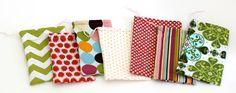 Simplest Sewn Fabric Bag (Tutorial)