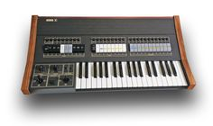 Korg Sigma KP30 Monophonic Synthesizer ~ can layer multiple sounds on top of each other. 29 knobs on the control panel and a modulation/filter section with two joysticks, many control sockets on the back