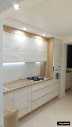 Kitchen Shelf Design, Kitchen Cabinet Door Styles, Kitchen Cupboard Designs, Luxury Kitchen Design, Design Your Kitchen, Kitchen Layout, Home Decor Kitchen, Interior Design Kitchen, Home Kitchens