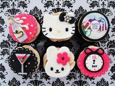 More Hello Kitty Cupcakes