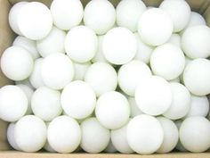 PING PONG BALLS / TABLE TENNIS BALLS - 144/pk (1 gross)