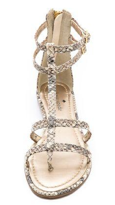 Kate Spade New York Adagio Perf Gladiator Sandals