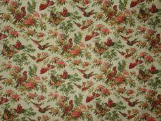 David Textiles birds and butterflies on by BlueCraneQuiltShop, $4.00