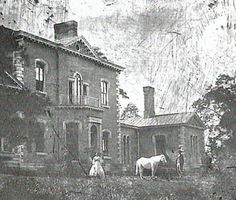 Here you see a view of Ashland, the Henry Clay Estate, in 1857.  This is one of the earliest photos of the area around Lexington, Kentucky.