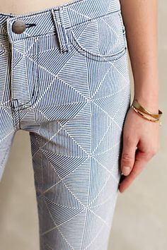 Fab geometric stripes, from Anthropologie