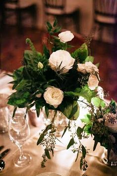 This whimsical affair filled with hot cocoa, sleigh rides, and lush blooms will have you dreaming of a 'White Wedding'. Flower Decorations, Wedding Decorations, Table Decorations, Wedding Styles, Our Wedding, Wedding Flowers, Centerpieces, Wedding Inspiration, Bloom