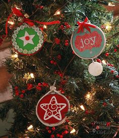 33 Totally Original DIY Ornaments That Win at Christmas Tree Decorating | Popular Now