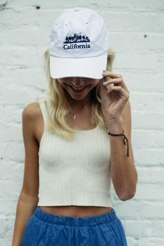 Brandy ♥ Melville | Katherine CA Palms Cap - Accessories