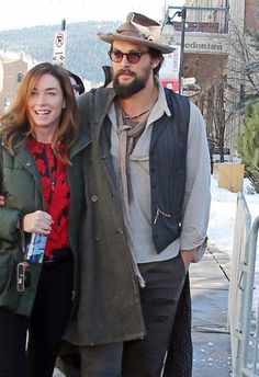 Jason Momoa Photos Photos - Celebrities spotted out and about at the 2014 Sundance Film Festival in Park City, Utah on January 17, 2014.<br /> <br /> Pictured: Jason Momoa - Celebs Out At The 2014 Sundance Film Festival