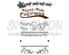 Christmas SVG Cut Files in SVG EPS DXF JPEG and PNG Format