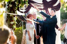 Groom holding an owl ring bearer Always Flawless Productions San