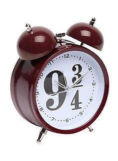 You should be alarmed, Potterheads! // Harry Potter 9 3/4 Alarm Clock