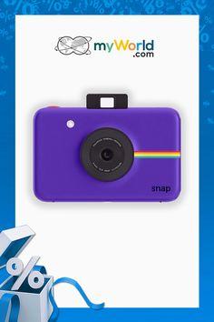 Imte radi klasično fotografijo? 📸 S pomočjo Polaroid Snap ponovno ustvarite čarobne klasične instant fotografije 😍👉 bit.ly/ElectronicSale_Polaroid_pin Mp3 Player, My World, Polaroid, Charger, Electronics, Fotografia, Polaroid Camera