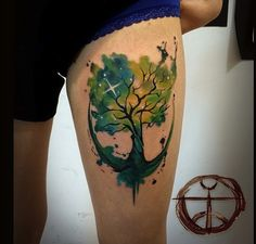 Anchor tree by Koray Karagozler. Beautiful!