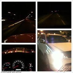 カミさん迎えに #fort #bgc #drive #philippines
